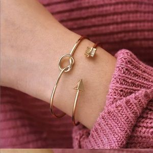 Jewelry - 🌼2 cuff bracelets 2 sets for $20